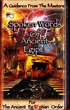 Spoken Words of Ancient Egipt, Malachi Z York,AMORC,Rosicrucian,Egypt,Esoteric