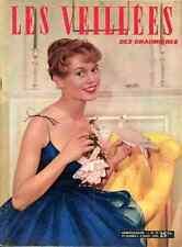 BRIGITTE BARDOT BB rare sexy Full-Cover 10 1954 Elle Les Veillées des Chaumières
