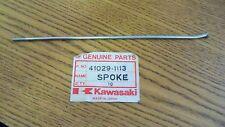 NOS OEM Kawasaki 189MMX Inner Front Spoke KX80 1984-1997 41029-113