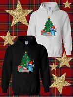 Disney Stitch with Santa Hat Christmas best gift  Hoodie Men Women Unisex V112