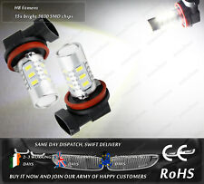 LED SMD H8 PGJ19-1 Xenon White Daytime Running Lights Fog Bulb HGV Truck 12V 24V