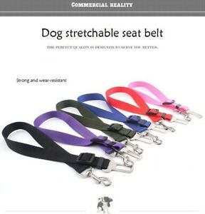 Cheapest And Adjustable Dog Pet Car Safety Seat Belt Leash