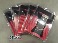 Genuine Honda OEM Accessories Carbon Fibre Look Wing Logo Tank Pad Job Lot of 5