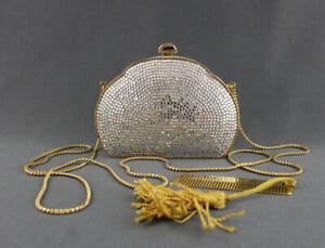 Judith Leiber Authentic Crystal Clutch Handbag