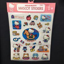 Vintage Sanrio Hello kitty mascot Stickers 1976 Japan Fifi Tracy Jodie NOS