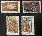 1971 Australian Stamps - Aboriginal Art - Set of 4 MNH