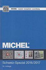 Michel Catalogo Speciale Svizzera 2016/2017, 35. EDIZIONE