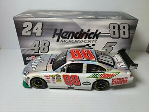 2010 Dale Earnhardt Jr #88 AMP/National Guard Flashcoat Silver 1:24 Action MIB