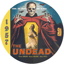 "The Undead (1957) Sci-Fi and Horror NR CULT ""B"" Movie DVD"