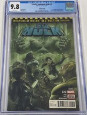 Totally Awesome Hulk #22 Second 2nd Print CGC 9.8 1st Full Weapon H Appearance
