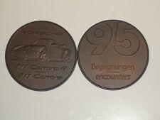1995 Porsche Christophorus Calendar Coin Münze RARE!! Awesome L@@K