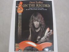 Dave LaRue On The Record Sheet Music Song Book Songbook Guitar Tab Tablature