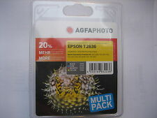 Agfa Photo t2636 MULTIPACK para Epson Expression Premium XP -600 700 800 500