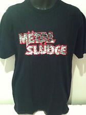 METAL SLUDGE Sex Sludge & Rock n Roll T-SHIRT NEW OFFICIAL MERCH SIZE Large