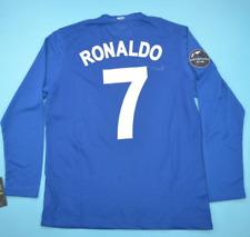 manchester united ronaldo 2008 retro soccer jersey vintage soccer jersey L