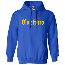 Cochino Thug HOODIE - Hooded Nasty Dirty Sweatshirt - All Sizes & Colors