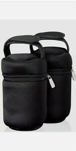 2 Tommee Tippee Bottle Bag Bottle Travel  Warmer