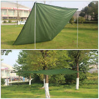 Portable Travel Tent Tarp Awning Sun Shade Rain Shelter Mat Beach Picnic Pad SW