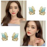Mode Schmetterling Ohrstecker Ohrringe Damenschmuck Mehrzweck Ohrstecker Z5U8