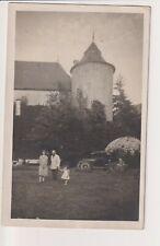 Oude Postkaart CPA  Fotokaart Château de Tarcienne Walcourt Famille Heurion