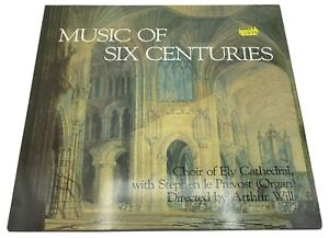 Music Of Six Centuries - Choir of Ely Cathedral LP Record Vinyl 1984 Meridian