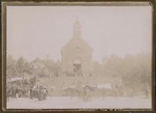 France, Loire-Atlantique, La Baule, La chapelle Sainte-Anne, ca.1900, Vintage ci
