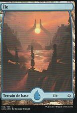 MTG Magic - Âge de la Destruction - Ile N°186 Full Art - Premium / Foil VF