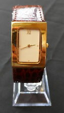 Faux Leather Band Women's Wristwatches