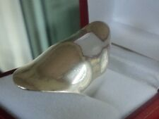 Attractive LARGE Vintage Sterling Silver Modernist Abstract Ring 1970s - size O