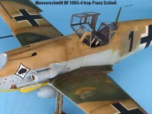 Messerschmitt Bf109 G-4 trop in 1:48 von Eduard gebaut