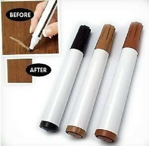 BROWN FURNITURE TOUCH UP MARKER PENS LEATHER SOFA SETTEE SUITE SCUFF SCRATCH