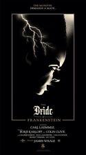 Olly Moss - The Bride of Frankenstein - Universal Monsters - Mondo