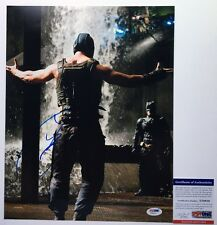 VERY COOL!!! Tom Hardy BANE Signed THE DARK KNIGHT RISES 11x14 Photo #2 PSA/DNA