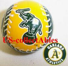 MLB OAKLAND ATHLETICS Baseball Keychain Rare Sports Classic Collectible Souvenir
