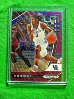 TYRESE MAXEY PURPLE PRIZM ROOKIE CARD JERSEY #3 KENTUCKY RC 76ERS SP 2020 PANINI