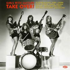 "GIRLS WITH GUITARS TAKE OVER  ""FRAT ROCK, SHE POP, 180 GRAM RED VINYL""  LP"