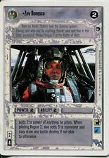 Star Wars CCG Hoth White Border Zev Senesca