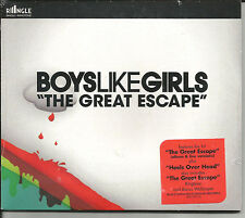 BOYS LIKE GIRLS The great escape w/ LIVE & Over head MIX RINGLE CD single SEALED
