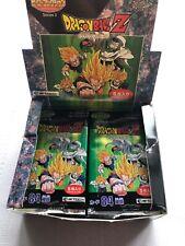 Vintage Dragonball z Japanese Series 2 - PARTIAL Hobby Box 20 Packs