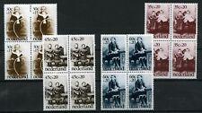 Nederland Kinderzegels 1974 1059-1062 blokken v 4 -POSTFRIS cat waarde € 14