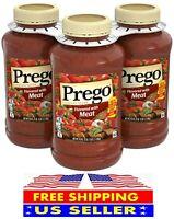 Prego Italian Flavored Meat Sauce (45 oz., 3 pk.) BEST PRICE