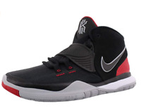 New NIKE Kyrie 6 (PS) Basketball Shoes Sneaker Black Red BQ5601-002 Size 8c