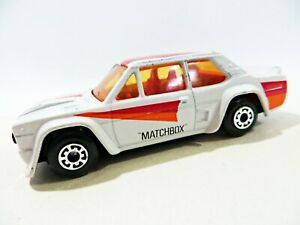MATCHBOX SUPERFAST 9 'FIAT ABARTH RALLY CAR'. VINTAGE. NEAR MINT. EXCELLENT.