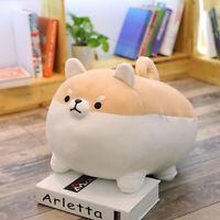 Cute Shiba Inu Corgi Plush Stuffed Animal Dog Soft Doll Toy Throw Pillow Cushion
