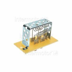 Standard Ignition HVAC Blower Motor Resistor RU95 3849567