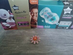 Tommee tippee made for me electric breast pump and bottles (brand-new)