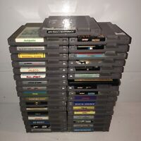 Huge Lot Of 35 Nintendo NES Video Games w/Mario 3 Vintage Retro Big Large Bundle