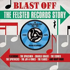 Blast Off - The Felsted Records Story 1958-1962 2CD NEW/SEALED
