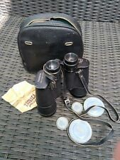 Yashica Binoculars Fully Coated Optics, 10 X 50, Field 53, Y-No 502070 with case