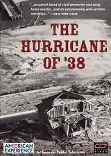 American Experience - The Hurricane of '38  (DVD) rare new
